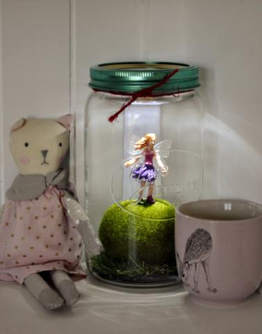Fairy Light Jar