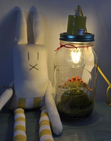 Stegosaurus Stan Light Jar