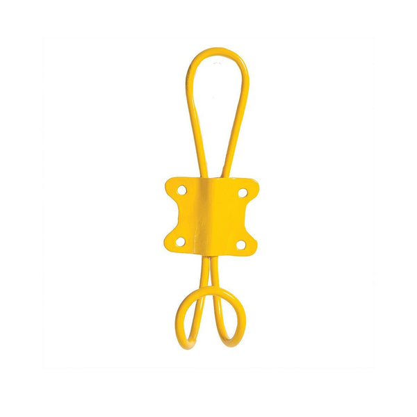 Bright Yellow Wire Hook