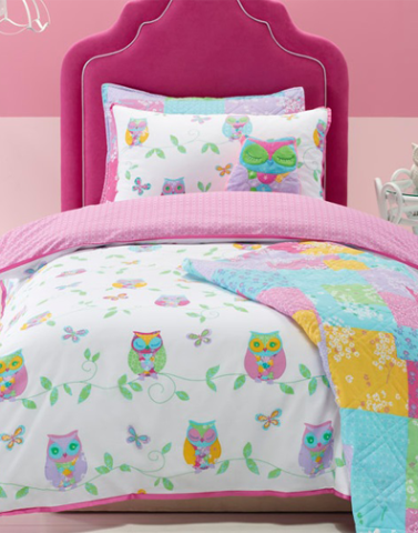 Owl Song Duvet Cover Set Double Bed Little Rooms