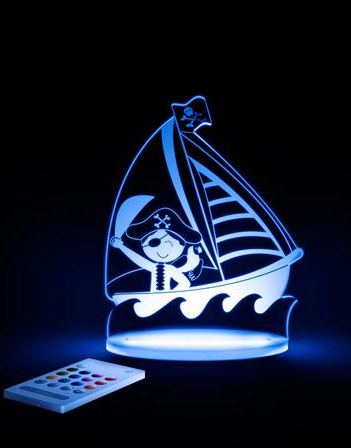 Pirate ship night light