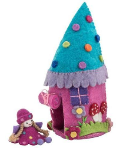 Pashom: Felt Teepee house with Fairy