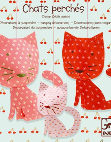cats hanging decoration