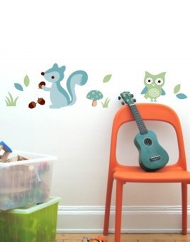 Forest Boys wall stickers