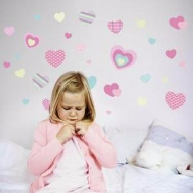 Sweet Hearts Wall Decals