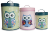 Owl Storage Tins