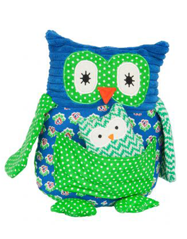 Papa owl soft toy