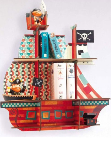 Pirate Shelves