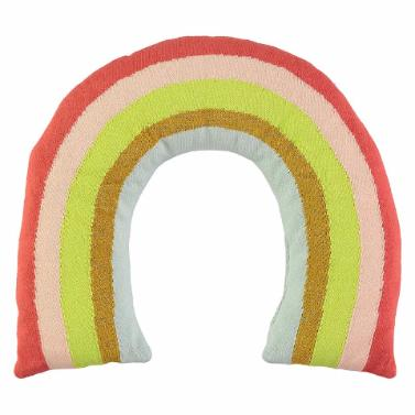 Knitted Rainbow Cushion by Meri Meri