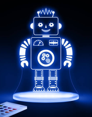 robot sleep light night light