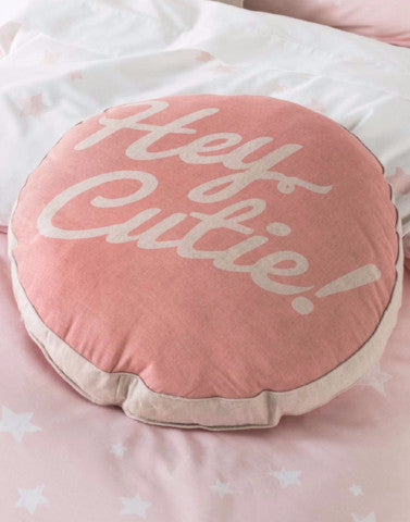 'Hey Cutie' Cushion