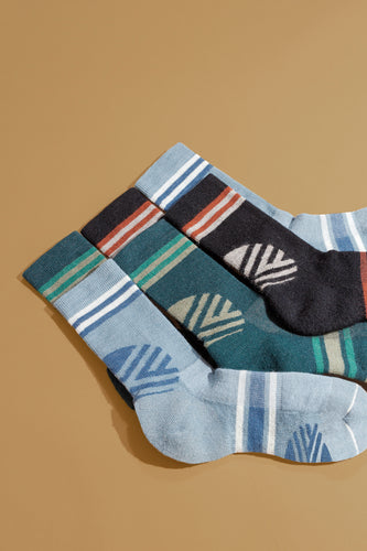 USA Made Hiker Warm Crew Socks