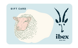 Ibex Gift Card; Background: White; Featured: Primary