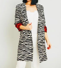Load image into Gallery viewer, Katrina Zebra Blazer - Endynelboutique