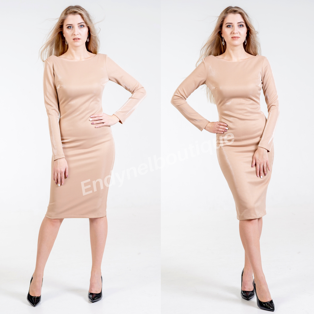 Ana Body Con Dress - Endynelboutique