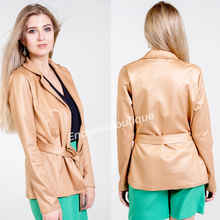 Load image into Gallery viewer, Belted Jacket - Endynelboutique