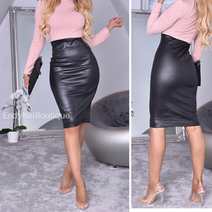 Trina BodyCon Turtleneck Dress - Endynelboutique