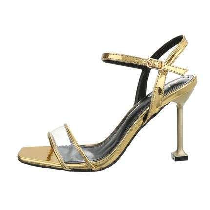 Xenia High Heel Transparent sandals - Endynelboutique