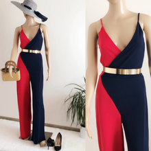 Load image into Gallery viewer, Olivia Front Wrap  Jumpsuit - Endynelboutique