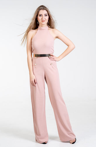Emma Sexy Button Jumpsuit - Endynelboutique