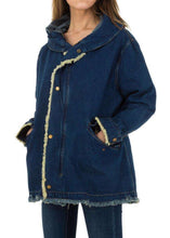 Load image into Gallery viewer, Button Up Denim Jacket And Hooded Vest - Endynelboutique