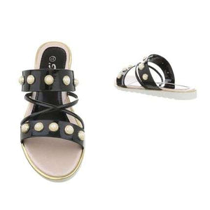 Rock me beads sandals - Endynelboutique