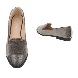 JOSEY MULE LOAFERS SLIP ON FLAT SHOES - Endynelboutique