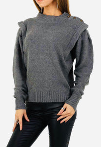 High Neck Sweater - Endynelboutique