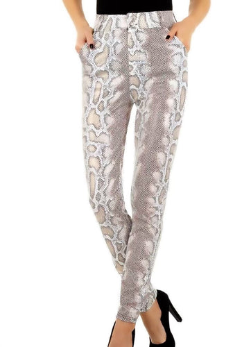Katerina Snake print trousers - Endynelboutique