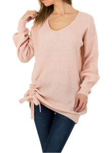 Pull up pullover sweater - Endynelboutique