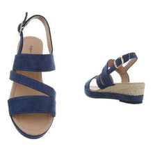 Load image into Gallery viewer, Katy wedge sandals - Endynelboutique