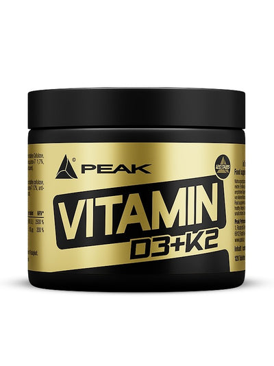 Peak Vitamin D3 + K2 - Body & Shape Sportnahrung