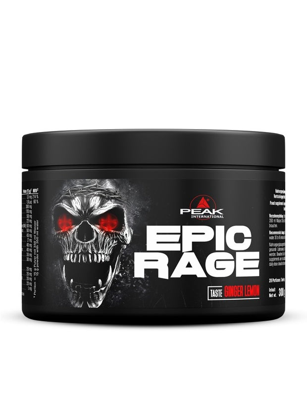 Peak Epic Rage - Body & Shape Sportnahrung