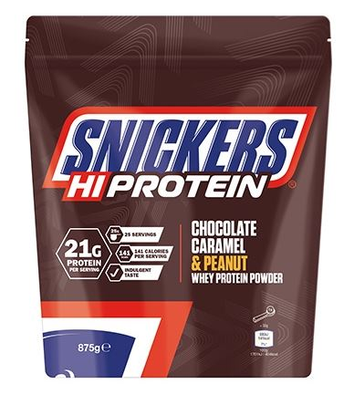 Snickers Snickers Hi Protein Chocolate/Caramel/Peanuts 875gr - Body & Shape Sportnahrung