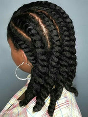 Flat twists | Natural hairstyle