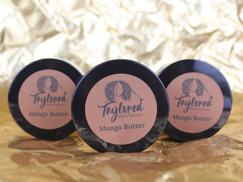 Whipped mango butter - Taylored Natural Haircare
