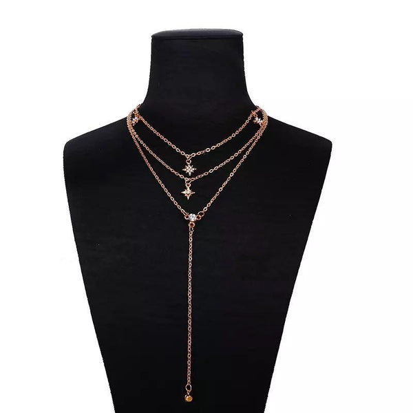 Bohemian Layered Necklace - VICVI