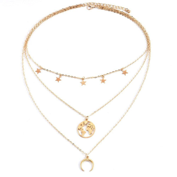 Layered Necklace Heavenly - VICVI