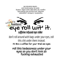 eye roll wit' it- roller for annoying under-eye bags