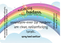 over the rainbow-spray hand sanitizer- 2oz. lavender
