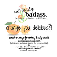 orange you delicious?!- bodywash