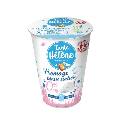 FROMAGE BLANC NATURE 0%MG 400G