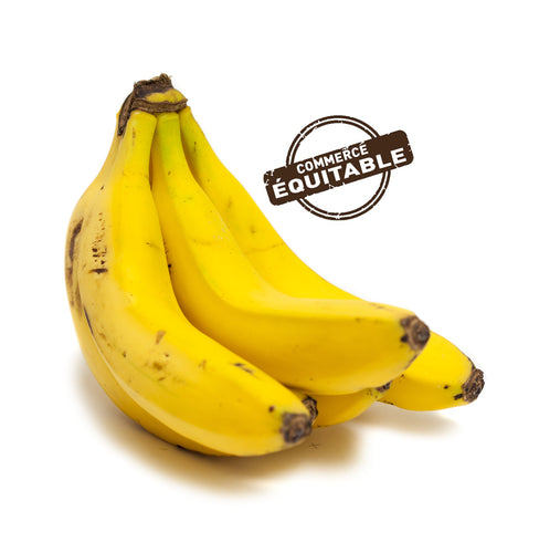 Banane Jaune Cal 17 République Dominicaine Cat 2 - au kilo
