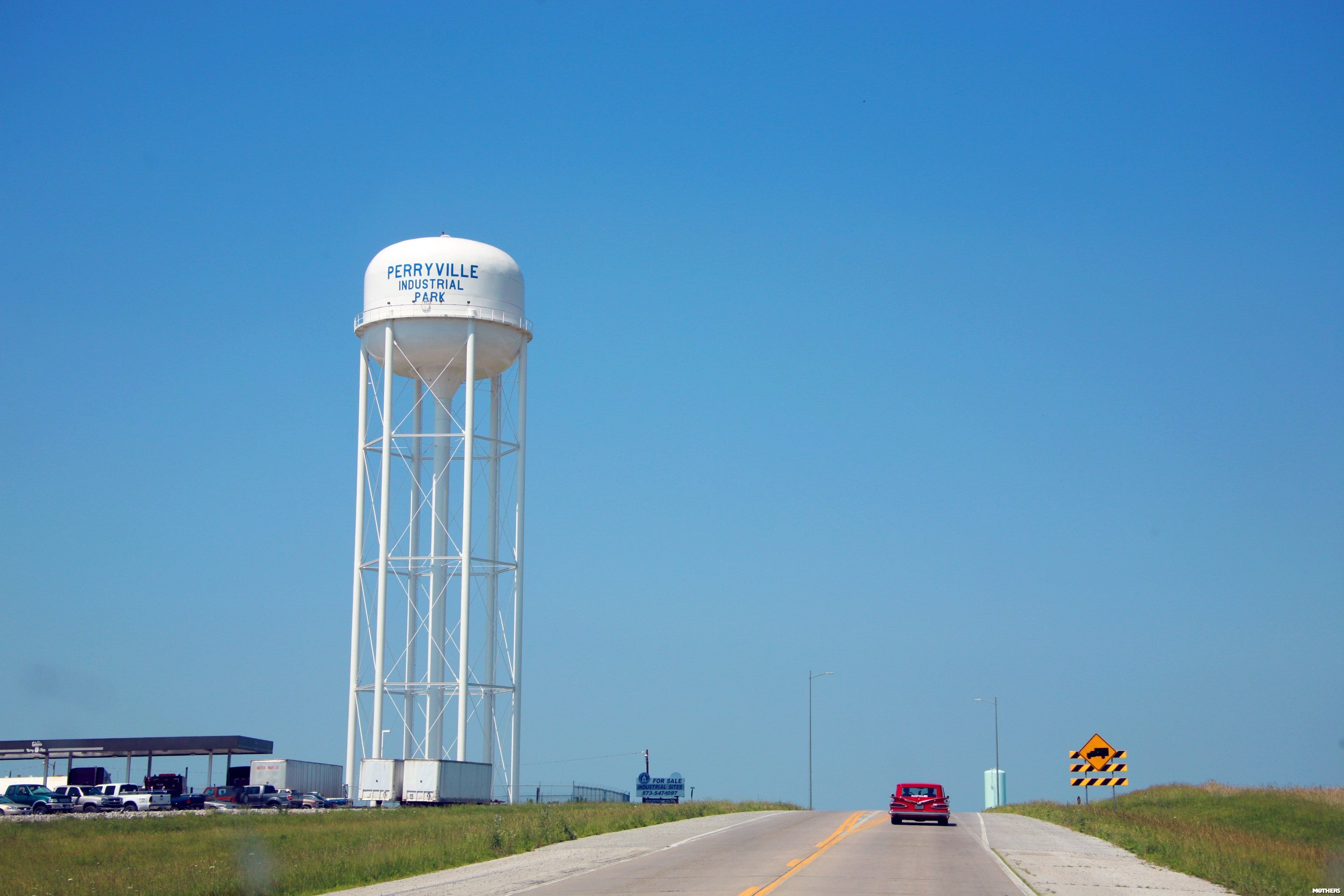 Perryville Industrial Park water tower