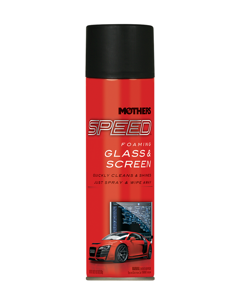 Speed Foaming Glass & Screen Cleaner