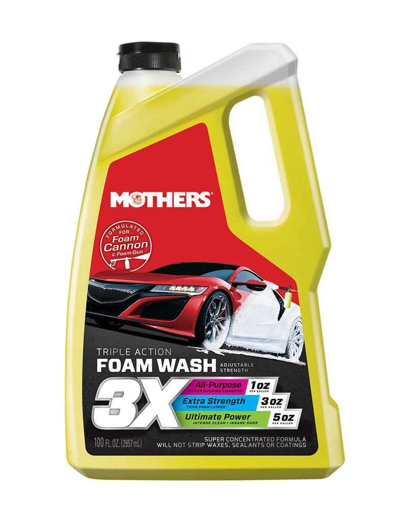 Triple Action Foam Wash