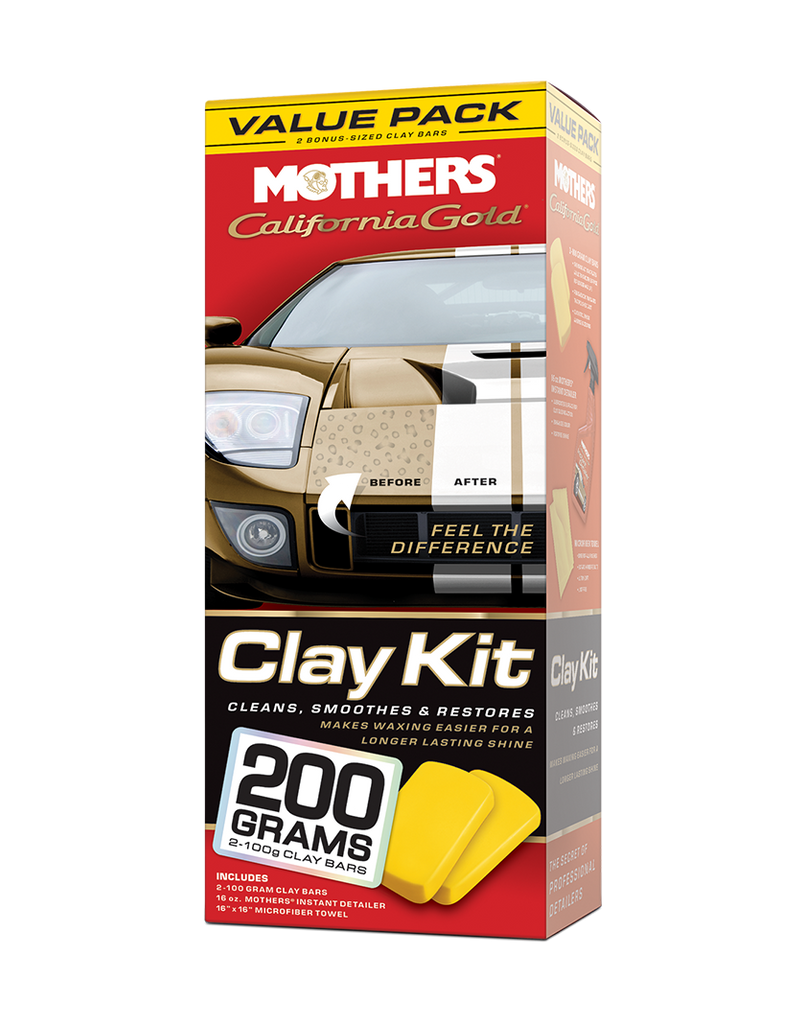 California Gold® Clay Kit - Value Pack
