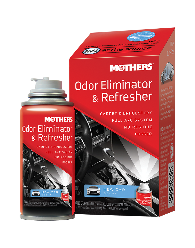 Odor Eliminator Refresher New Car Scent Mothers Polish