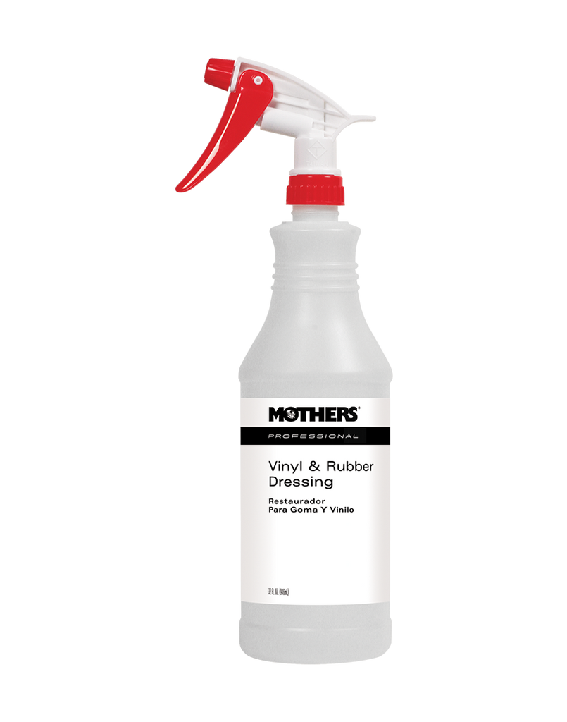Professional Vinyl & Rubber Dressing Spray Bottle