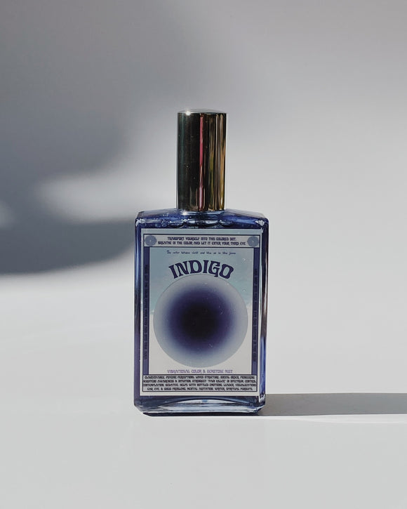 INDIGO Vibrational Color + Gemstone Mist